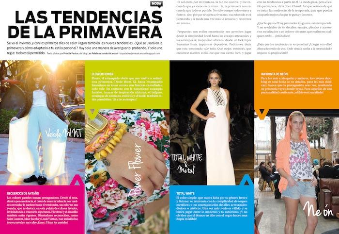 Artículos de revistas de moda