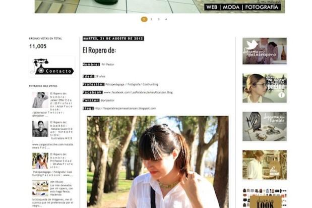 Entrevista para el blog Mimi Ropero http://mimiropero.blogspot.com.ar/2012/08/el-ropero-de.html