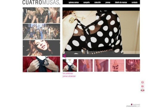 Blog elegido por CUATROMUSAS accesorios para darse a conocer en sus orígenes.