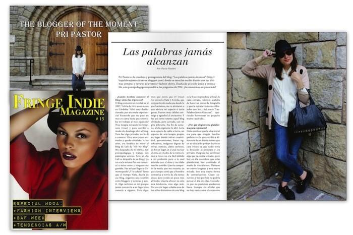 Entrevista en la Revista Digital Fringie Indie