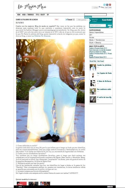 Entrevista sitio La Mujer Más http://lamujermas.com/cuando-las-plalabras-alcanzan