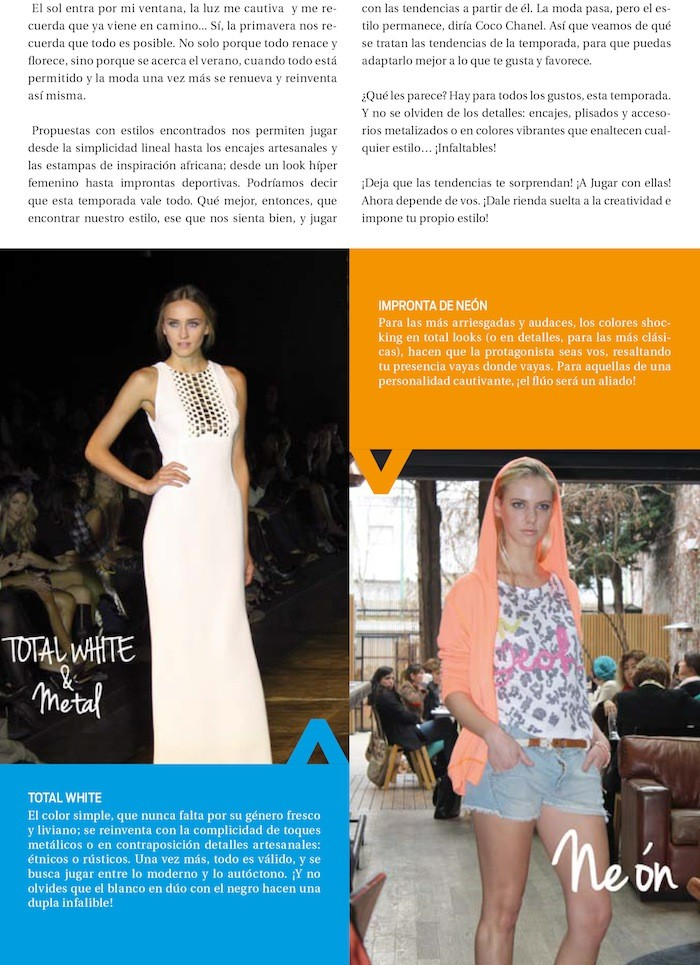 Revista Pro Universitarios Nº22. Columnista de Moda